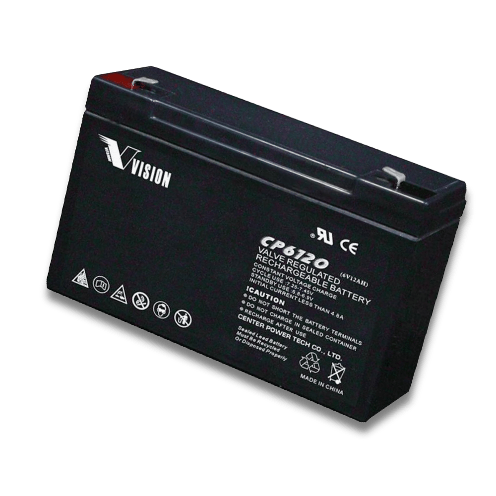 Välkända 12 volt genopladeligt batteri i professionel kvalitet IW-93